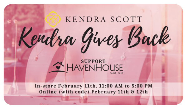 Kendra Gives Back | February 11th & 12th, 2021