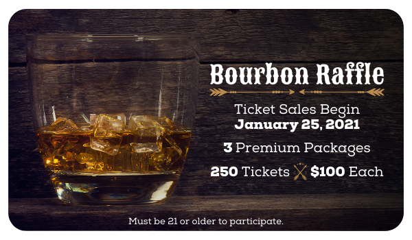 Bourbon Raffle: January 25, 2021